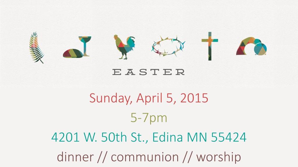 Easter Worship 2015